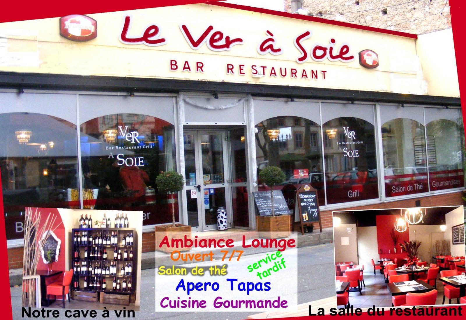 Bar restaurant Le Ver à Soie – Lavaur
