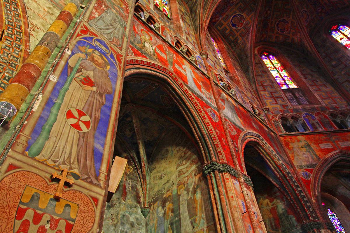 église classée unesco à rabastens