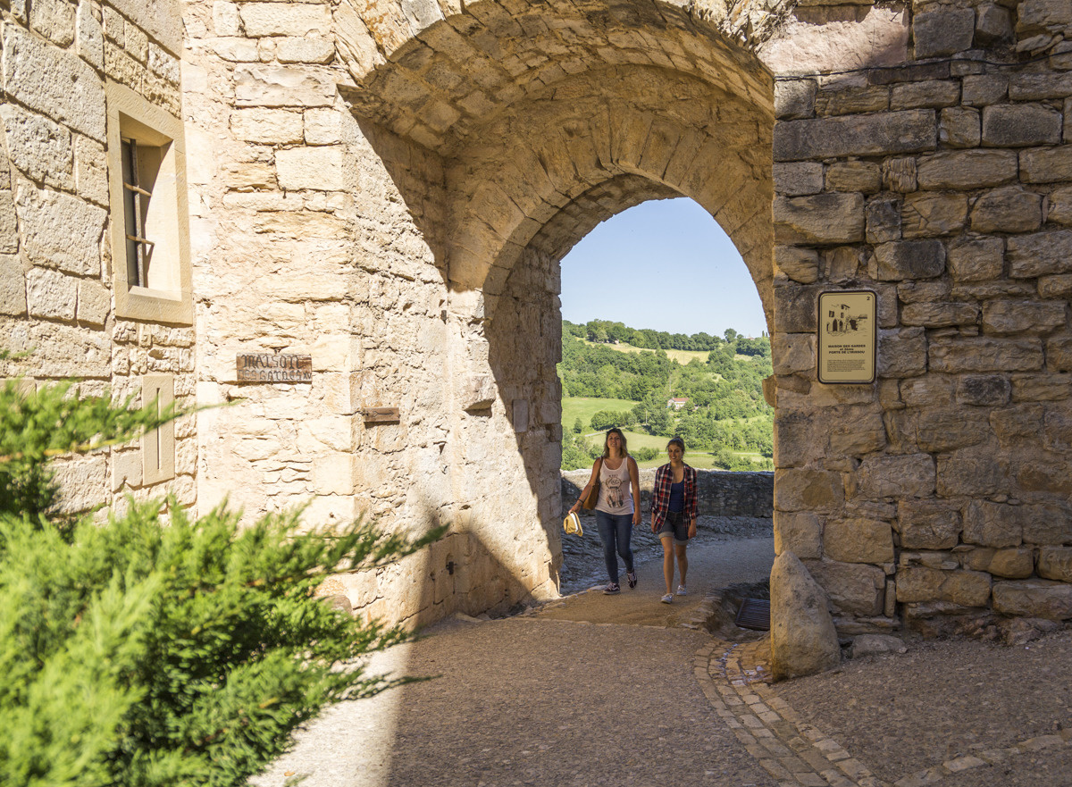 Porte puycelsi dans le Tarn