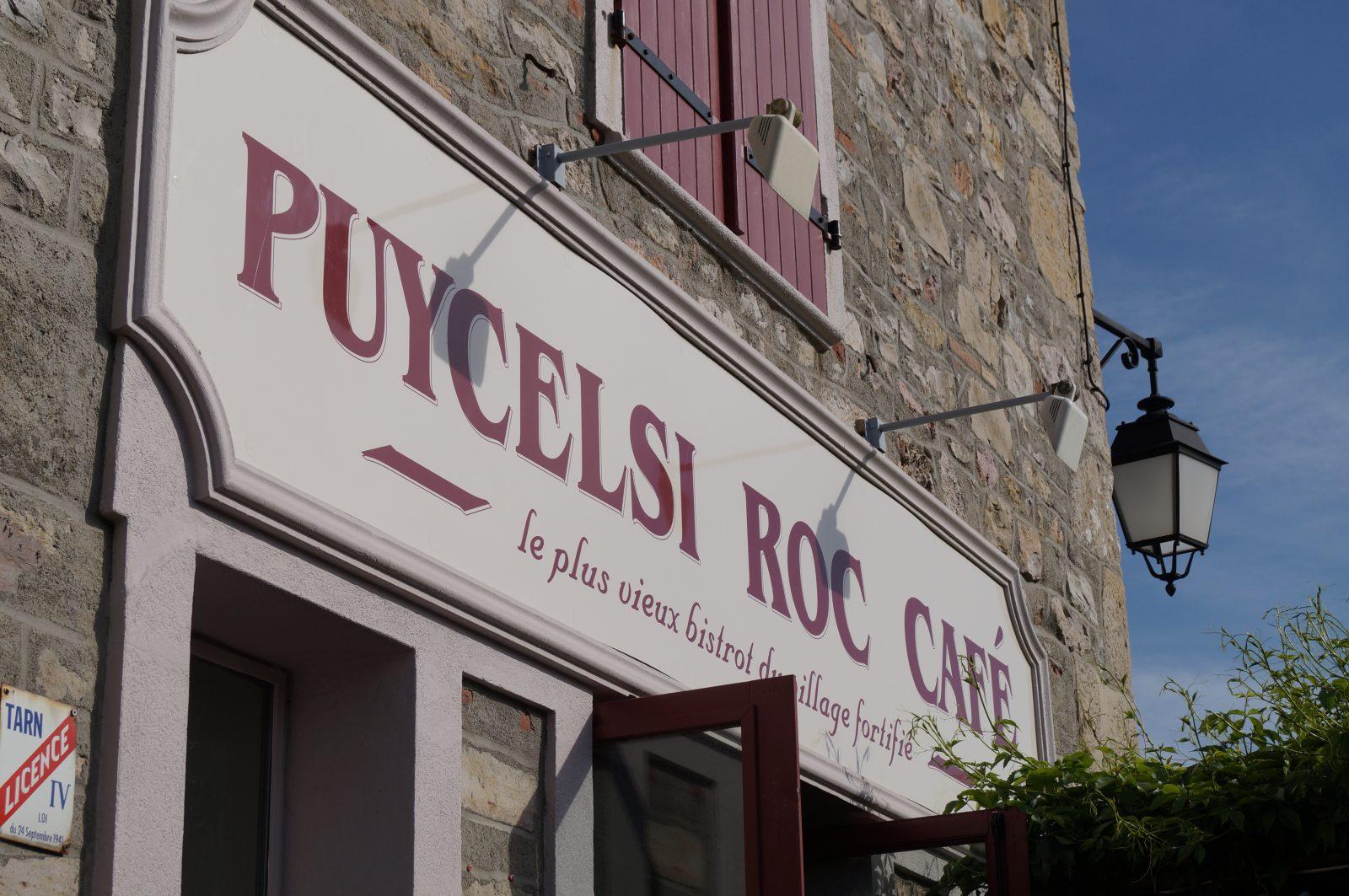 Puycelsi Roc Café, le plus vieux bistrot du village fortifié