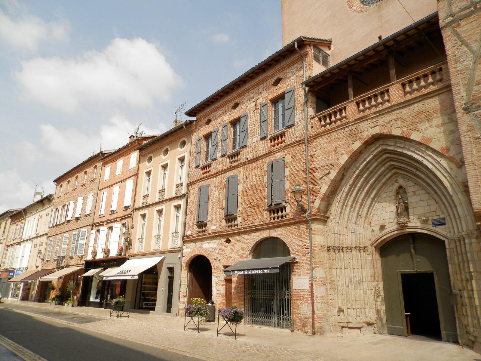 Grand rue de Lavaur