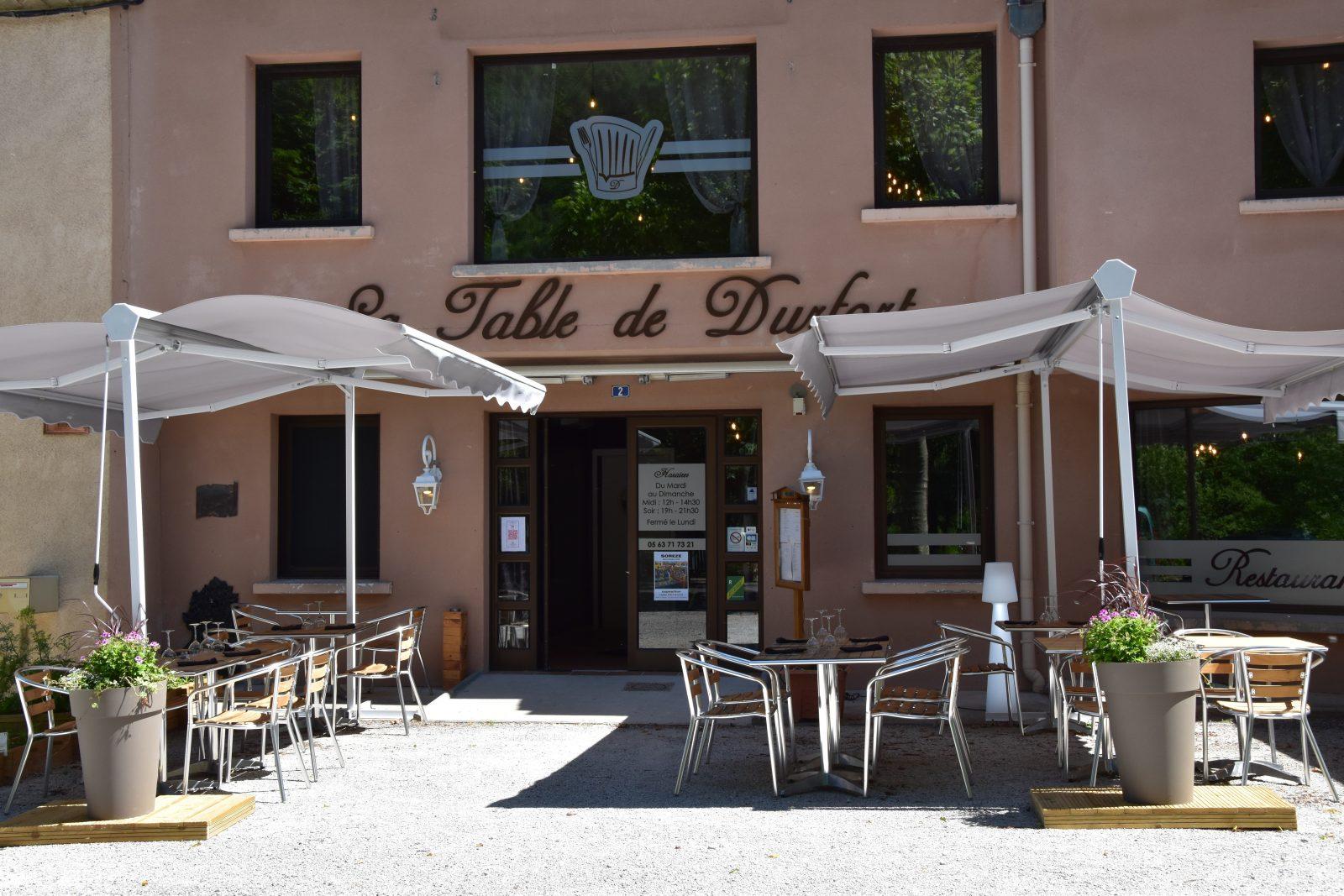 La Table de Durfort