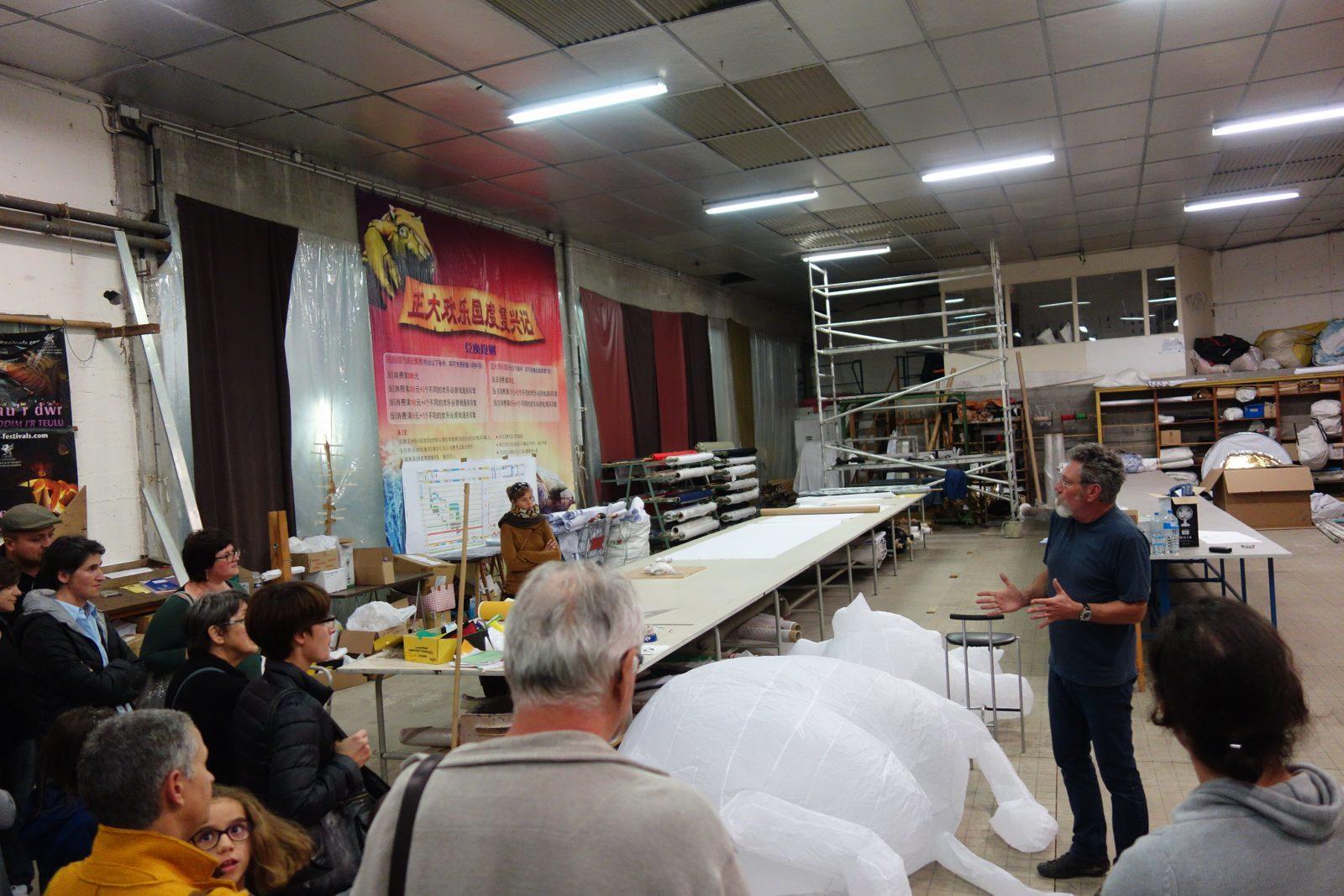 Visiter une entreprise du cuir à Graulhet