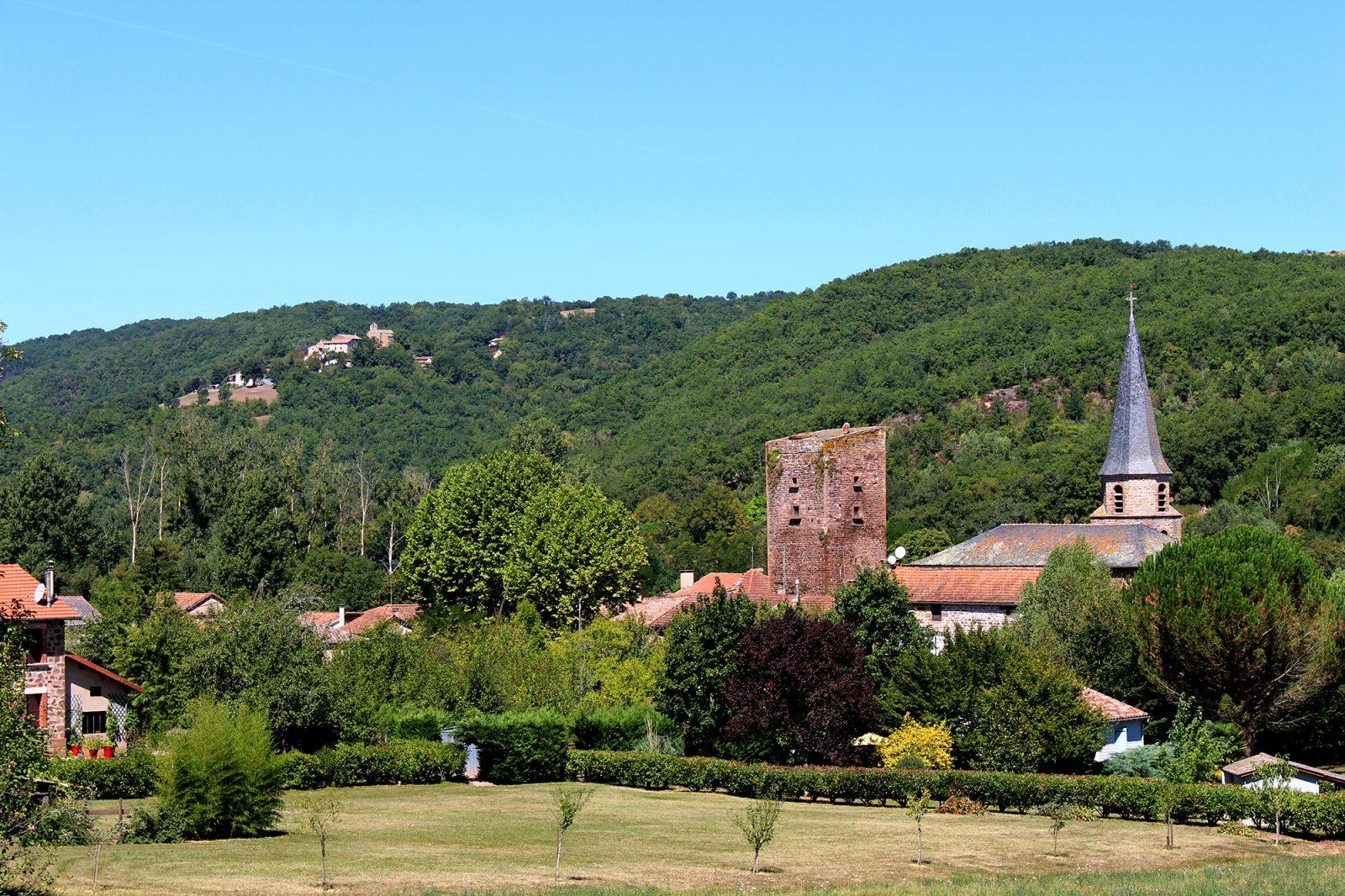 Panorama – village de Salles
