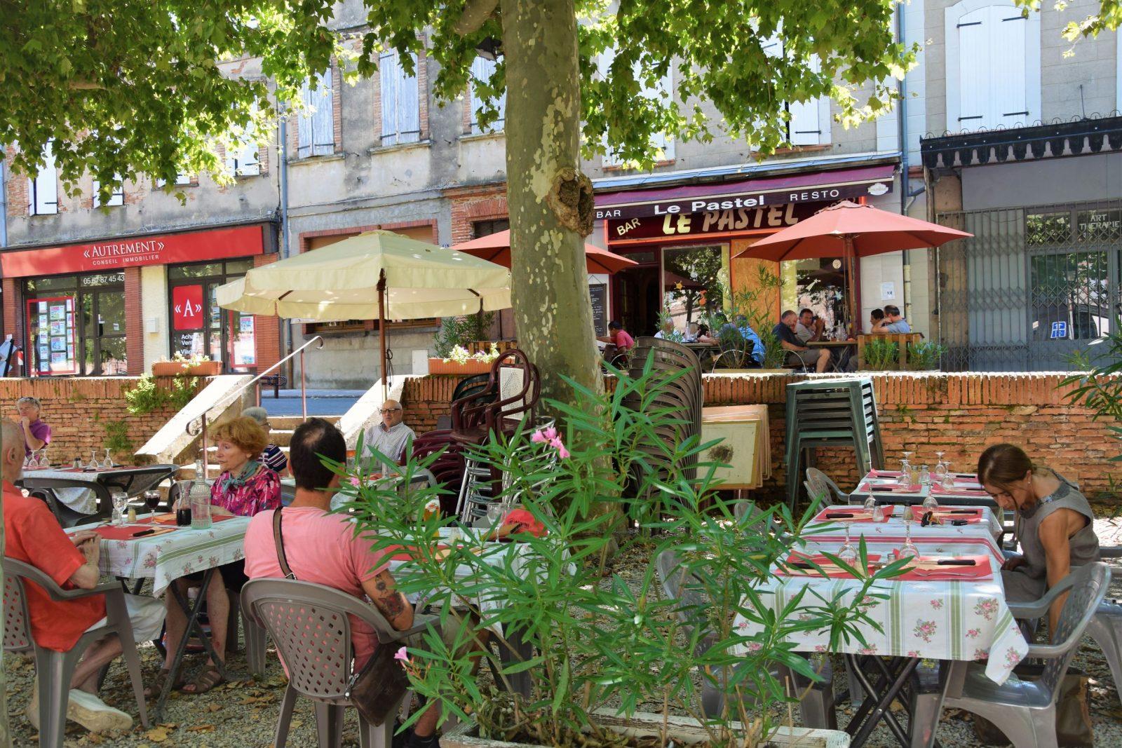 Restaurant Le Pastel à Rabastens