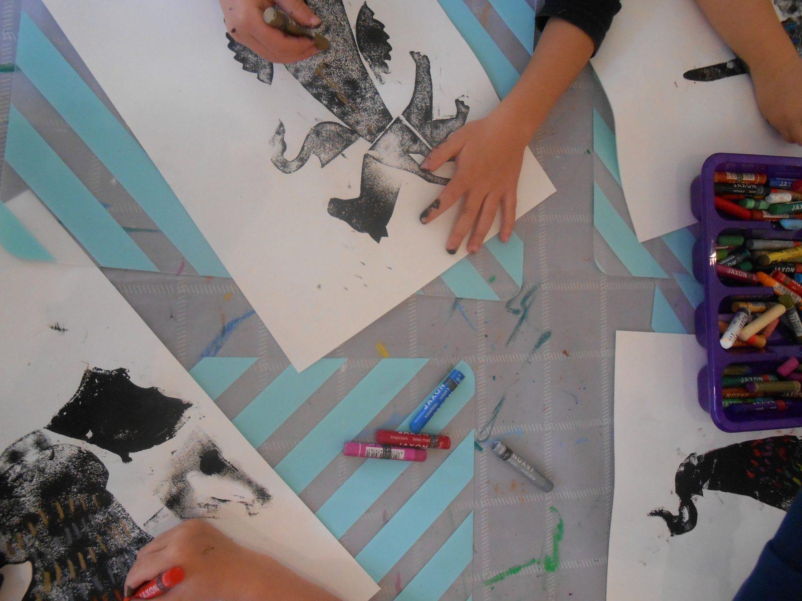 Eveil artistique à l'Atelier Polymorphe