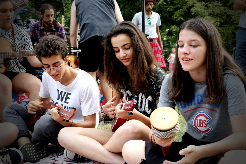 colonie de vacances musique Rock The Casbah