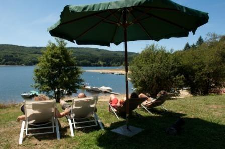 Le Camping Le Rouquie du Lac