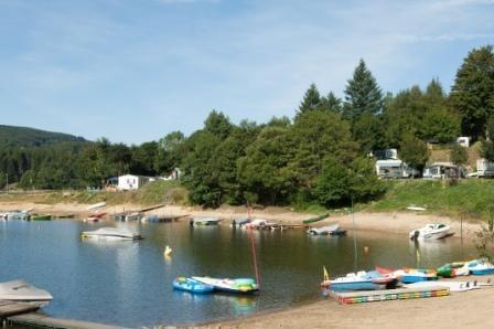 Le Lac du Camping Le Rouquie du Lac