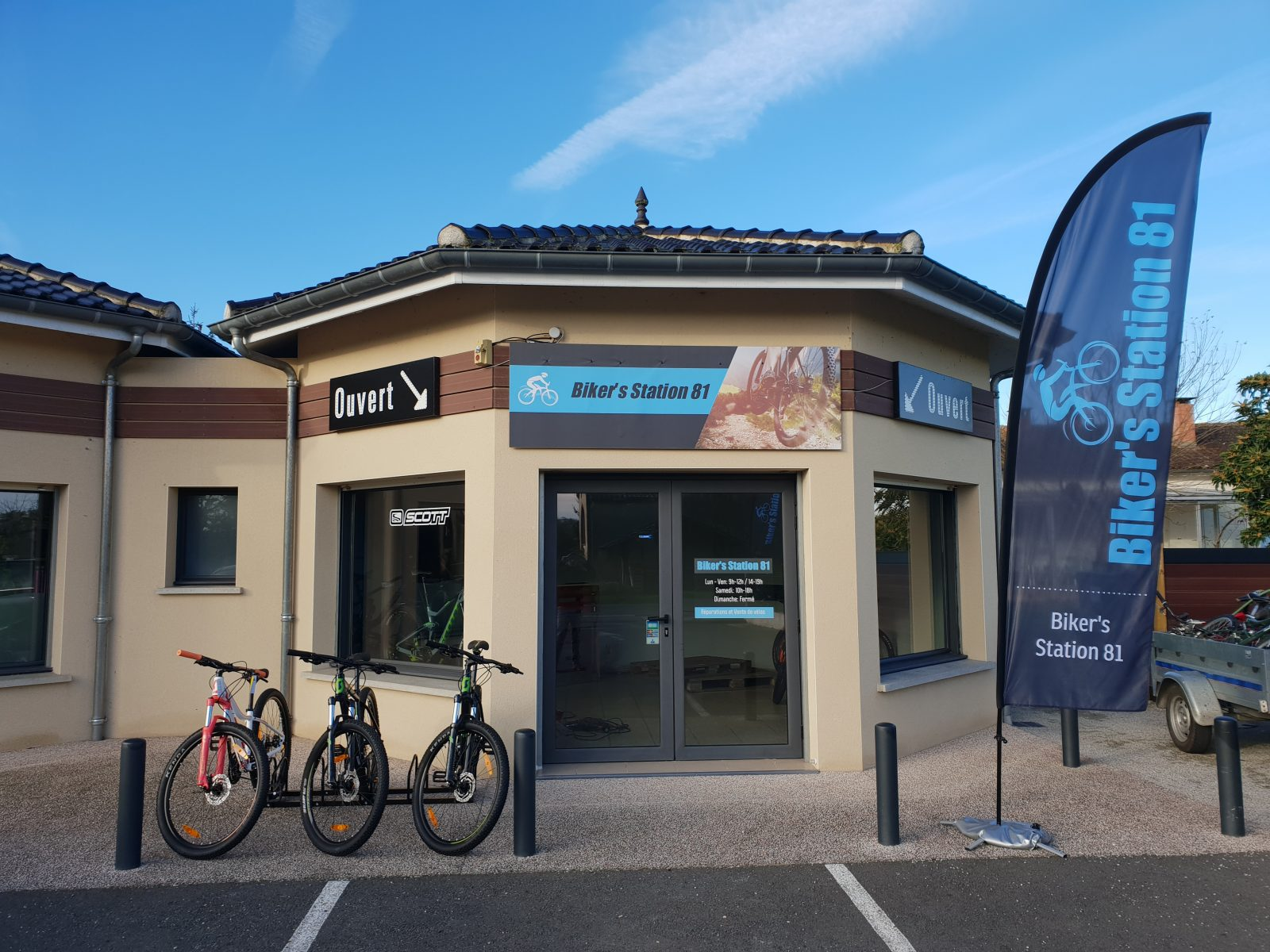 Biker's Station 81 – Ambres – Lavaur – Tarn