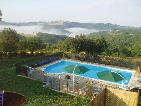 Bleuet piscine