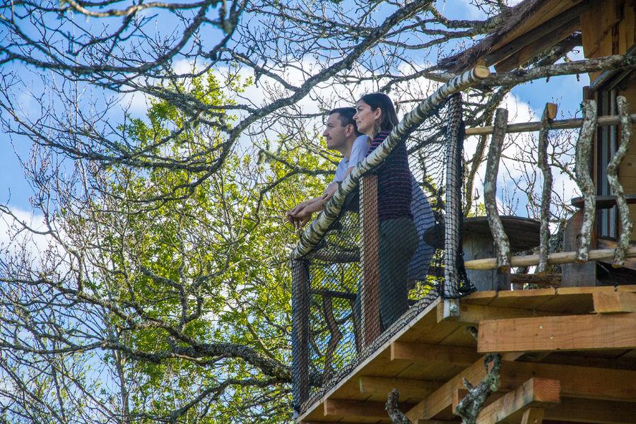 Vacances Tarnaises – Week-end insolite dans la cabane perchée en amoureux