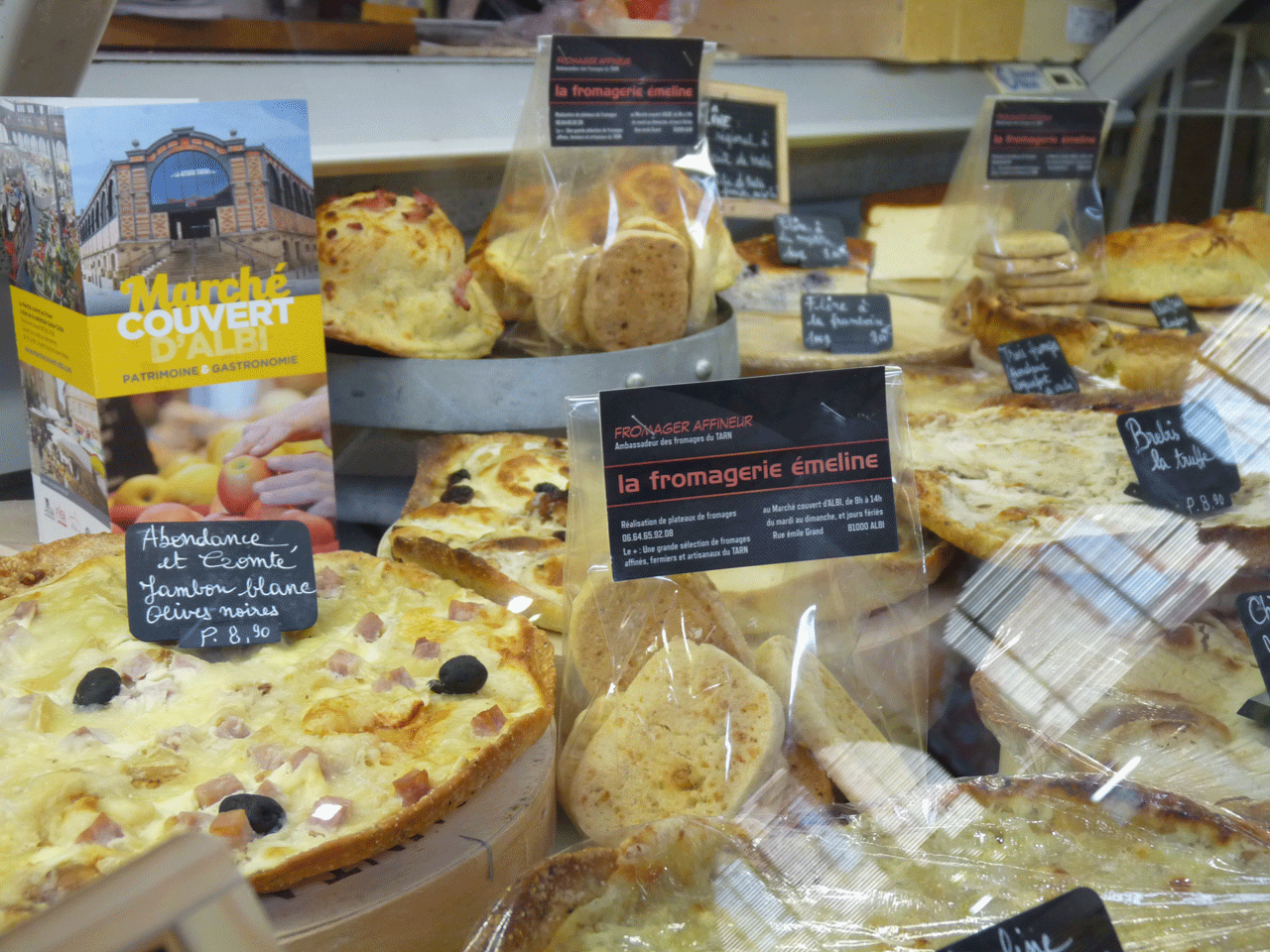 Albi Fromagerie Emeline marché couvert