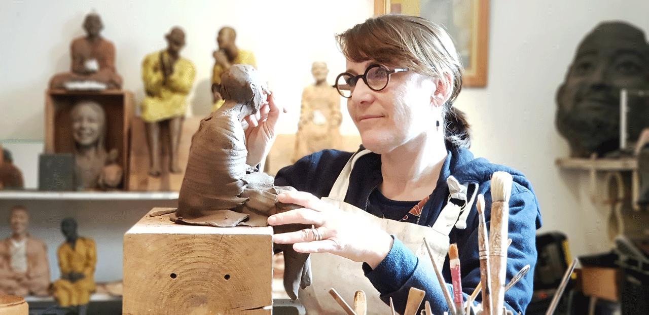 Albi Corinne Chauvet Sculptrice