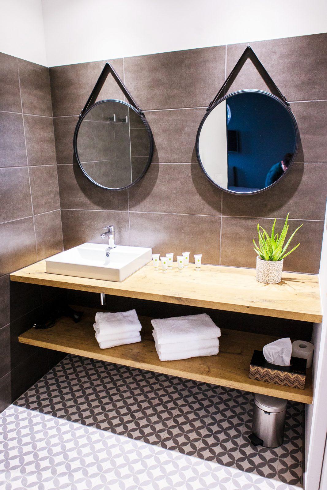 Salle de bain – suite Château Tauzies