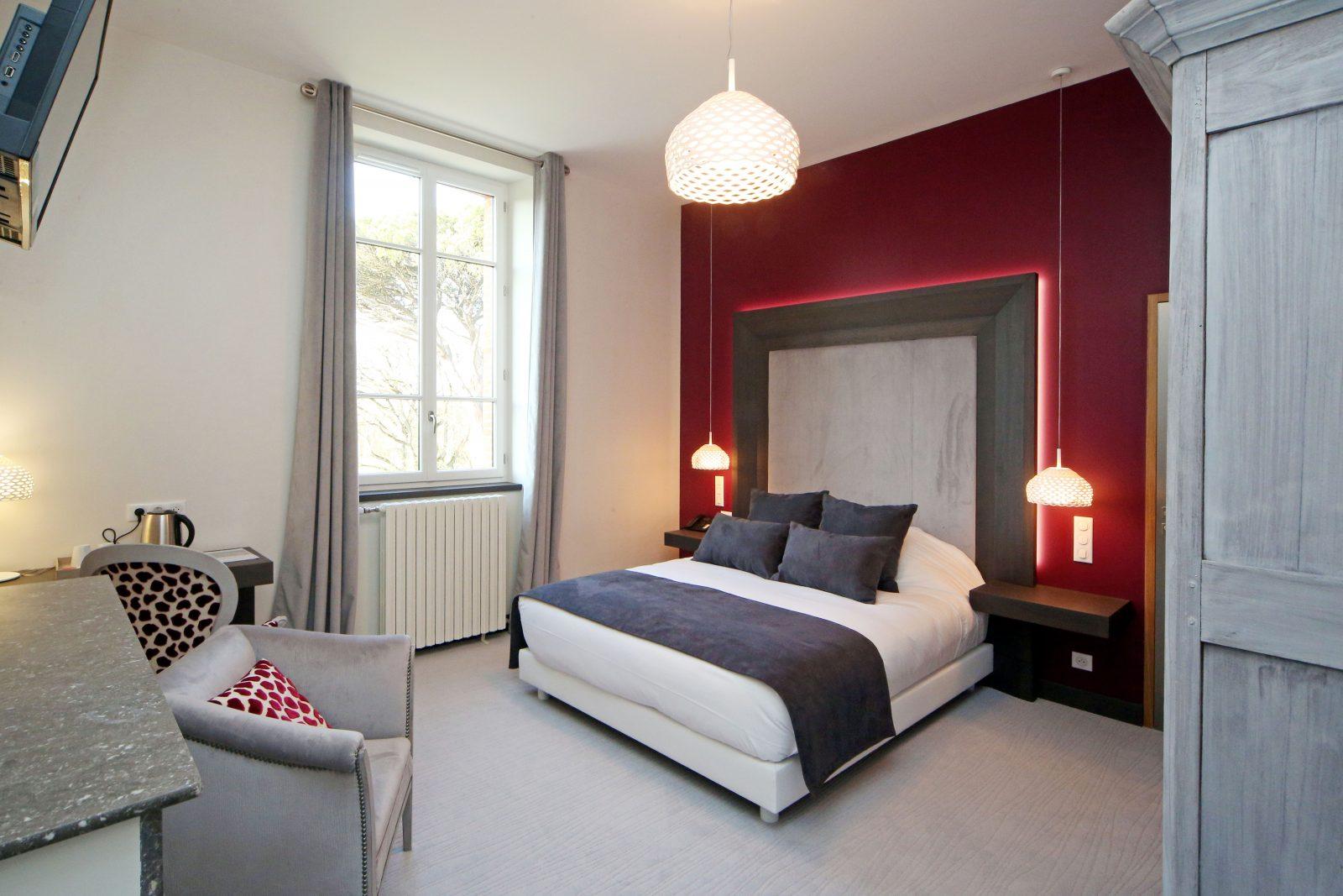Domaine d'En Fargou – Hôtel 4* – Chambre Lie de vin – Saint-Sulpice Tarn