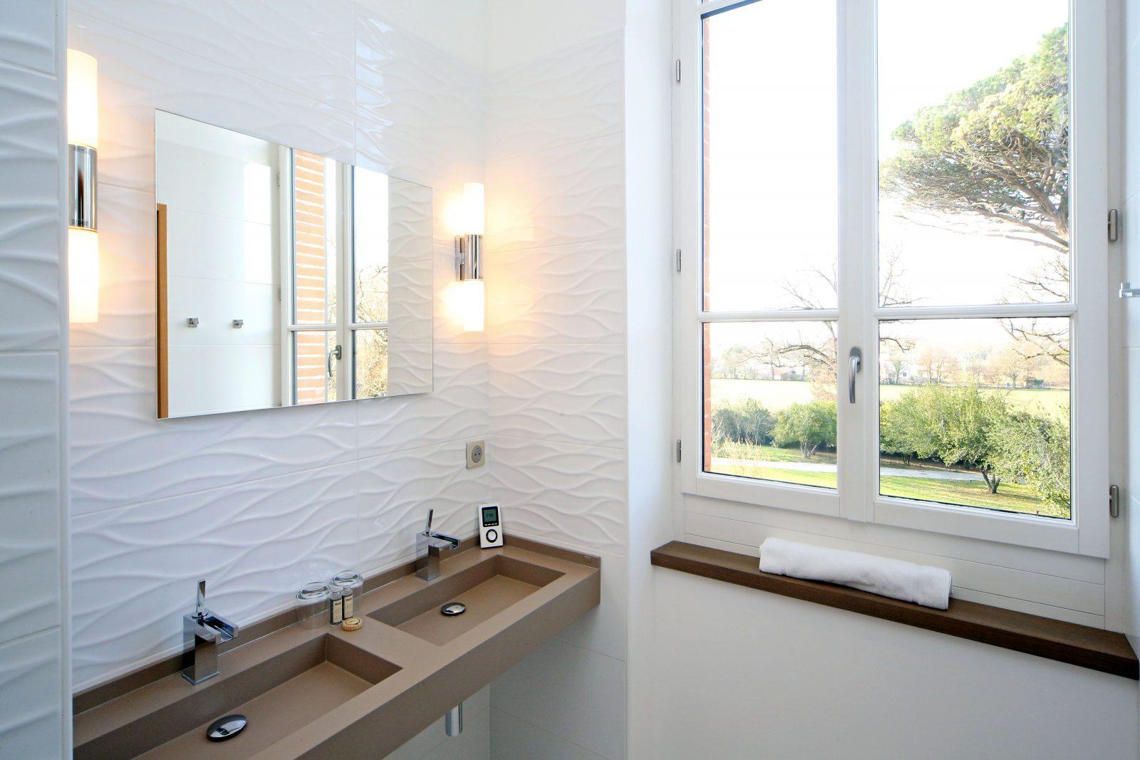 Domaine d'En Fargou – Hôtel 4* – Salle de bain chambre Or – Saint-Sulpice Tarn