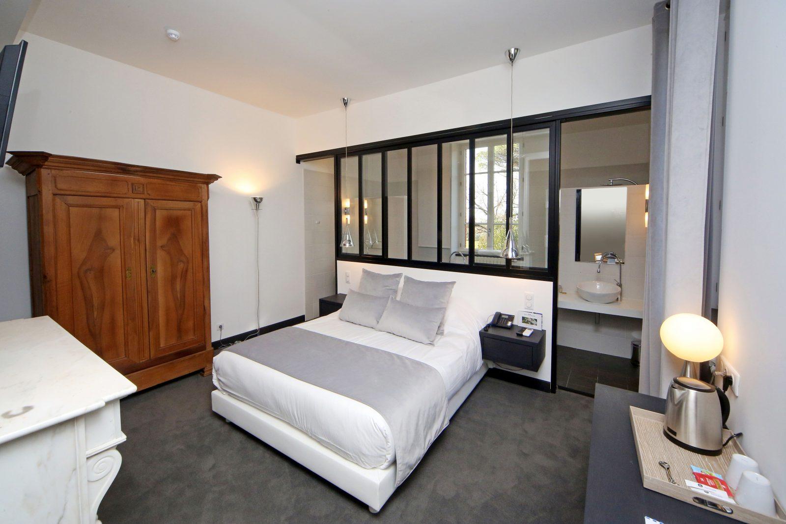 Domaine d'En Fargou- Hôtel 4* – Chambre verrière – Saint-Sulpice Tarn