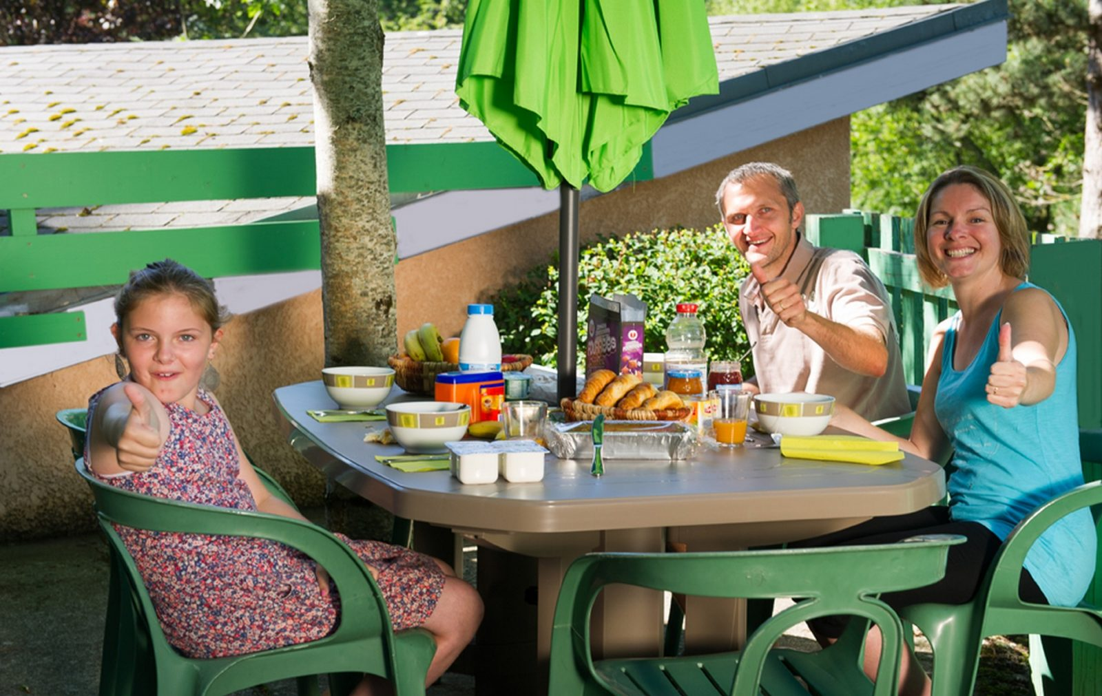 Camboussel déjeuner en famille