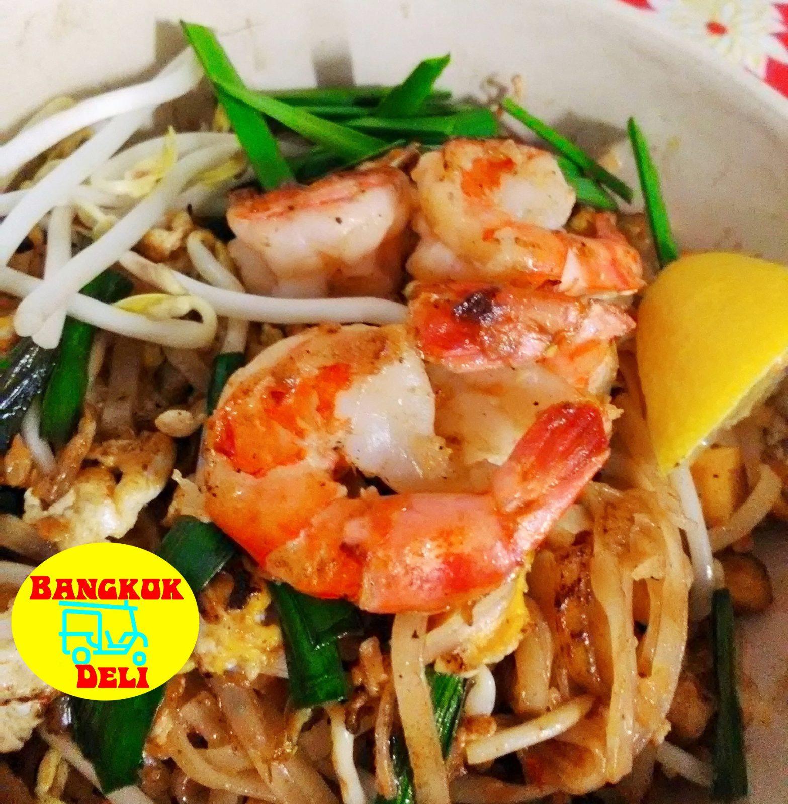 Plats au Bangkok Deli Street Food