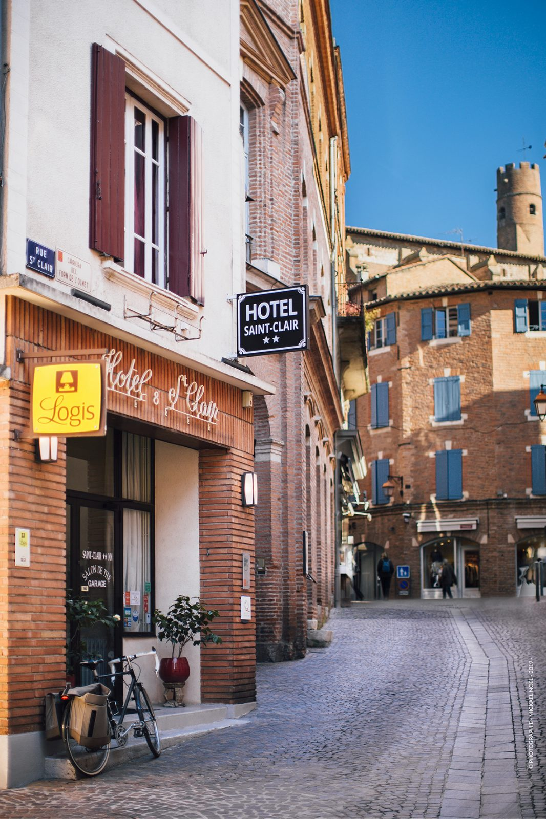 hotel saint clair entrée