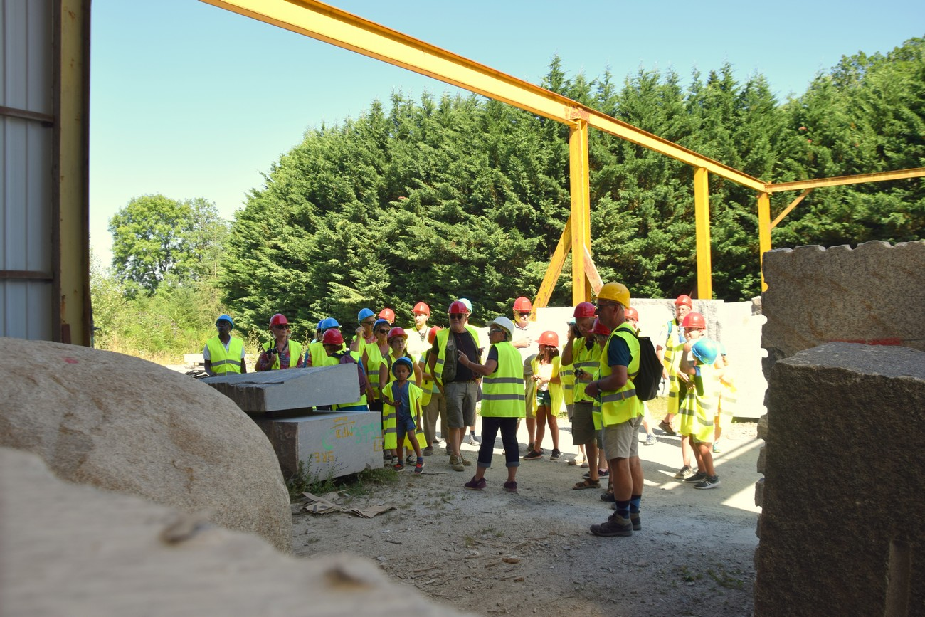 Visite atelier et carrière de granit