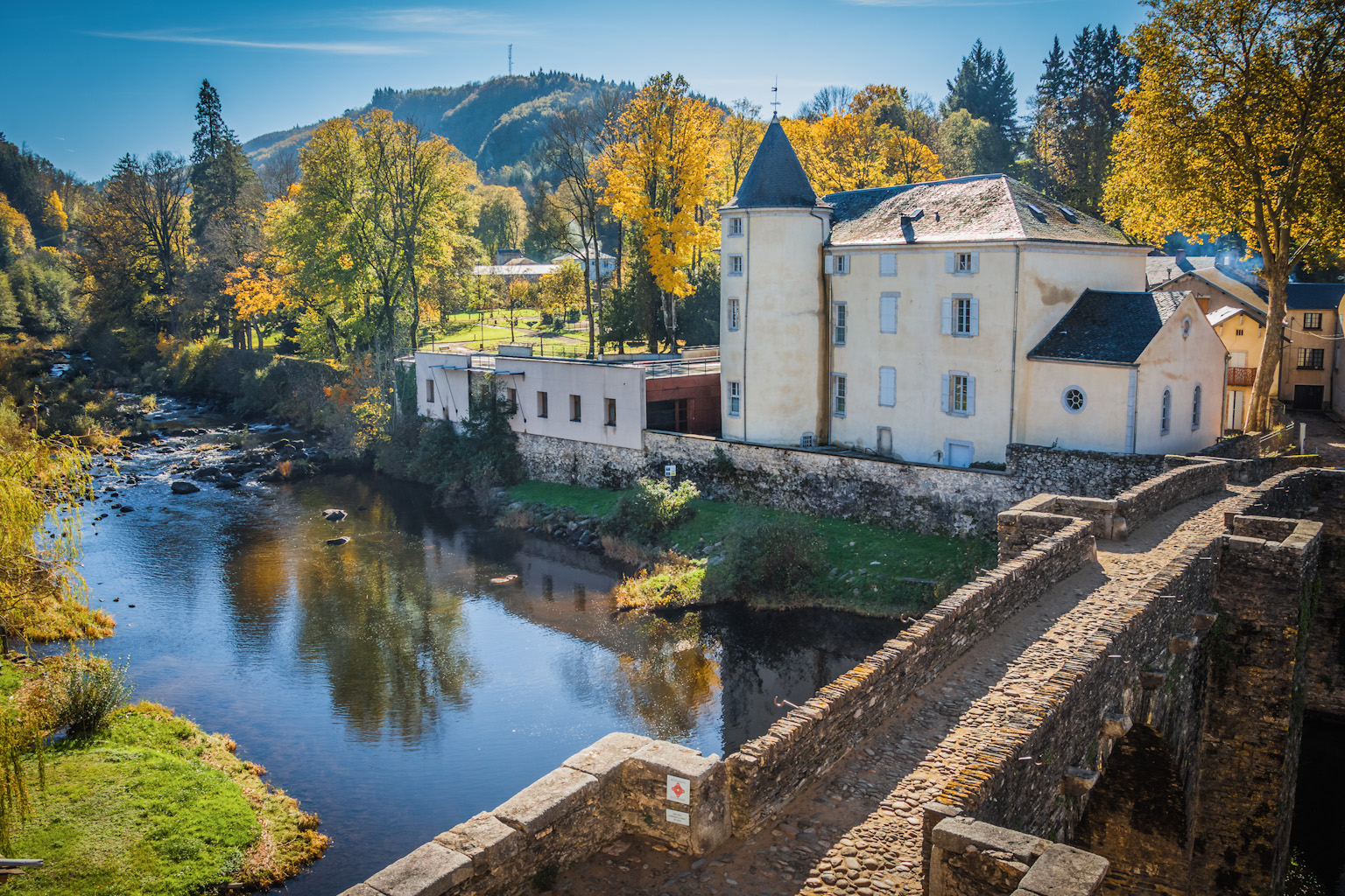 visite du village de Brassac