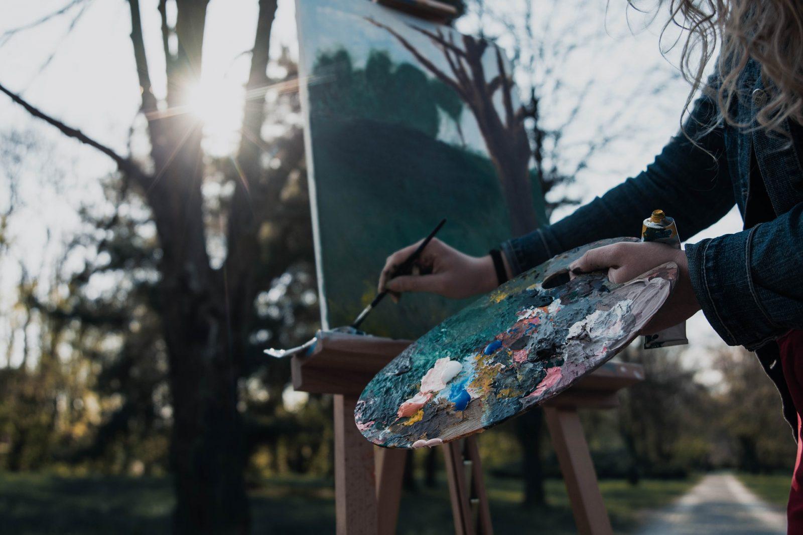 stage de peinture à castelnau