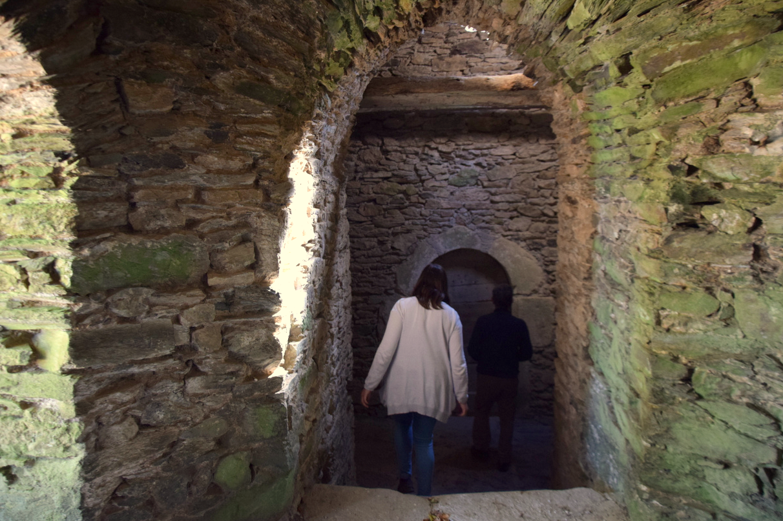Accès à la chapelle de St Jean del Frech