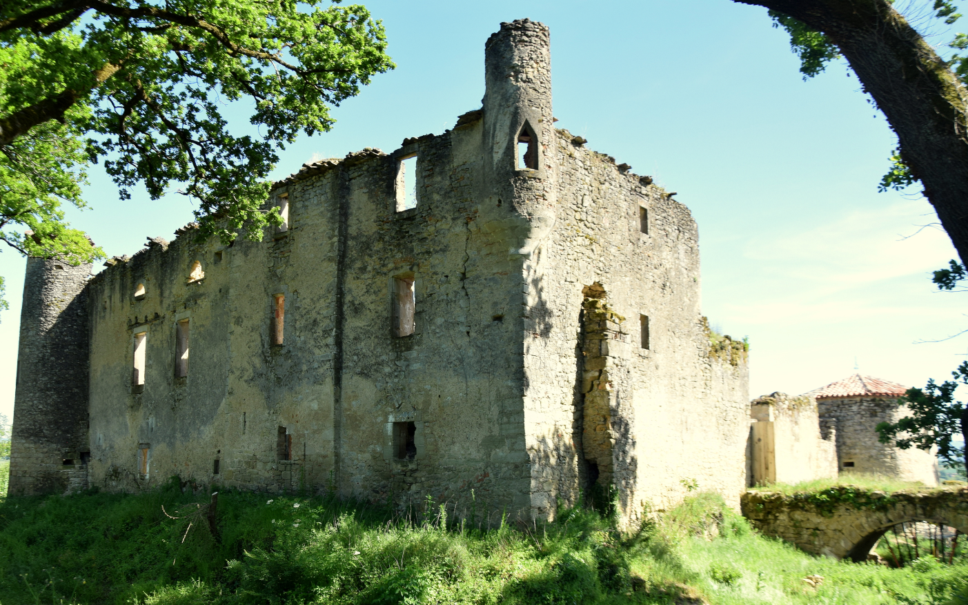 chateau de Montfa