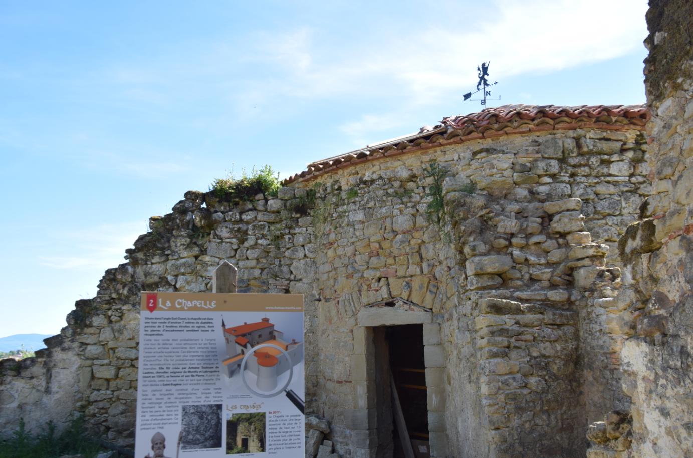 Chapelle du chateau de Montfa