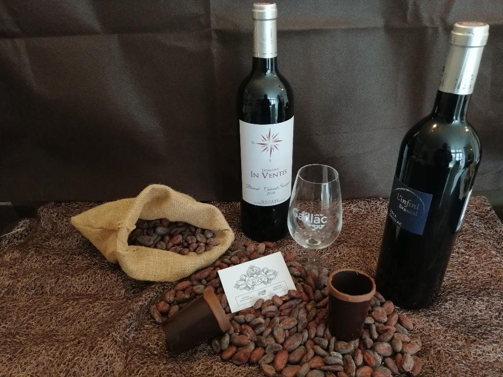 Atelier «Accord vin et chocolat»