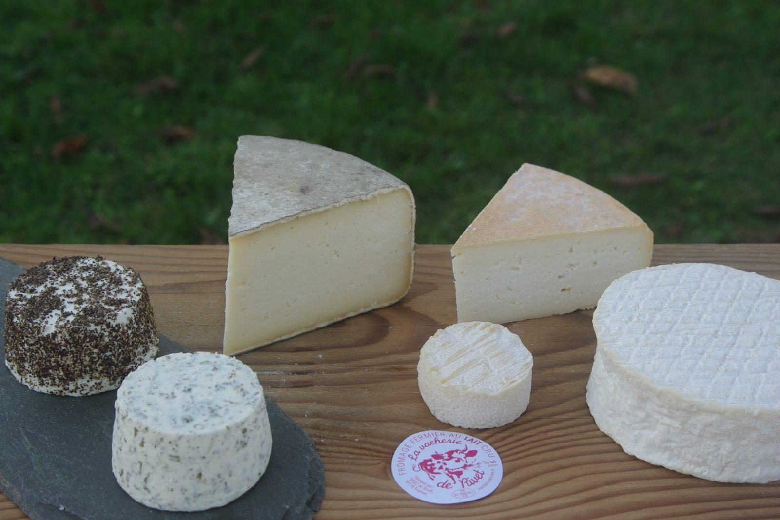 plateau de fromage Vacherie de Rivet
