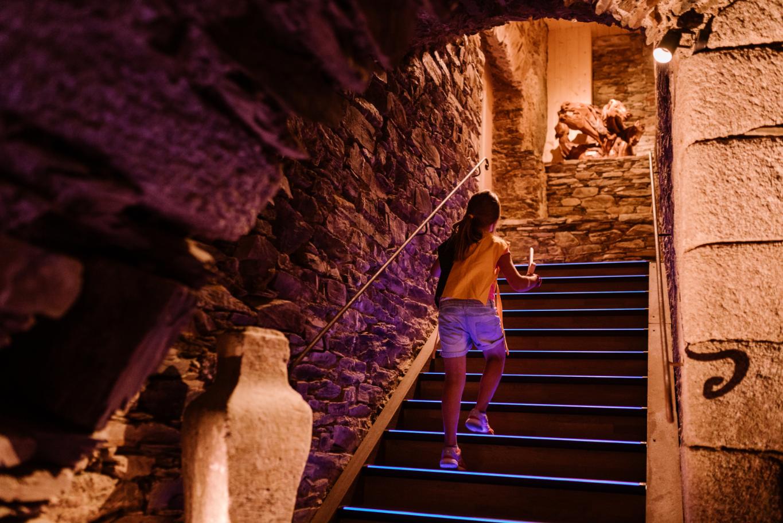 Interieur château de Lacaze Tarn