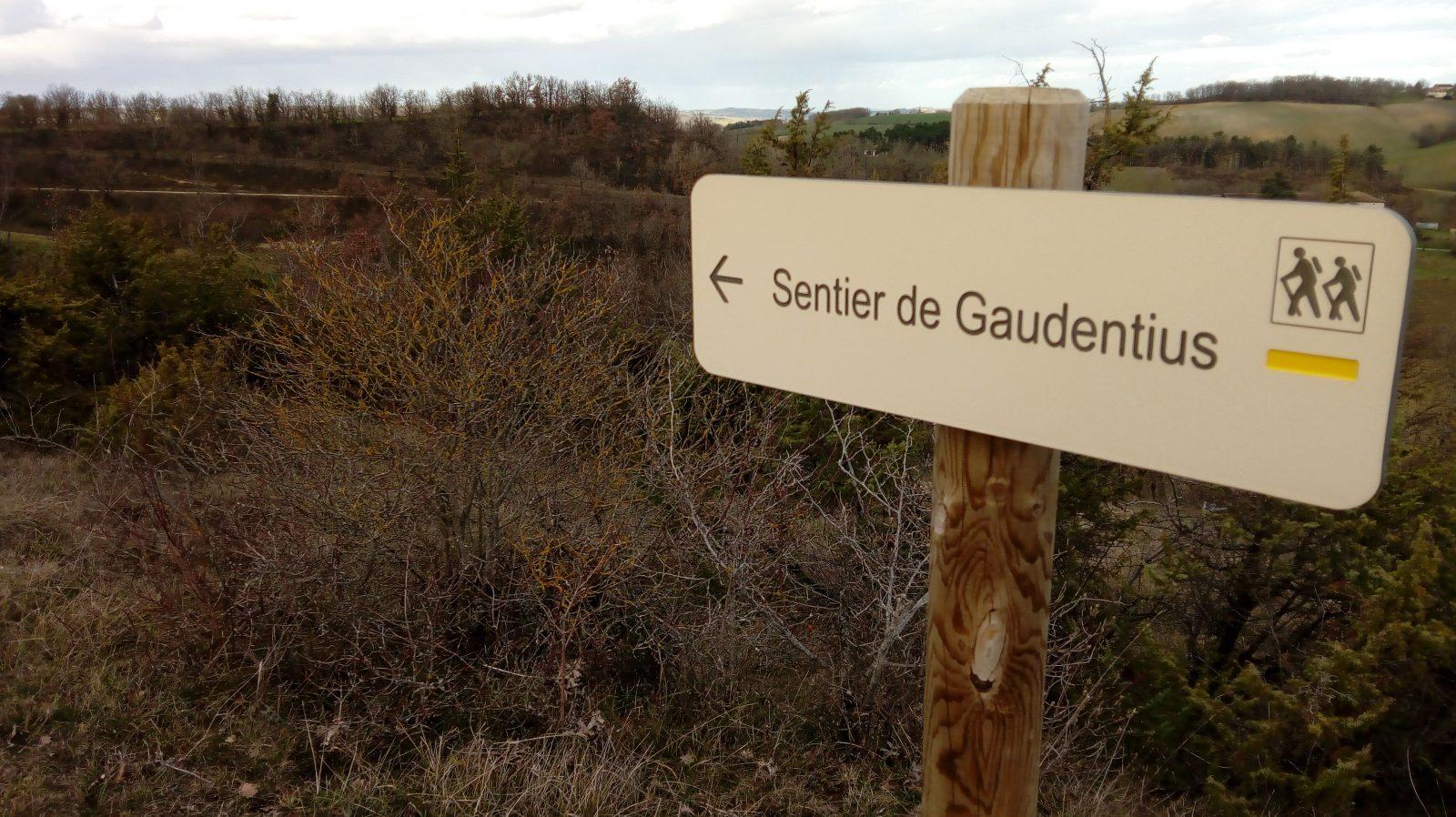 sentier de Gaudentius