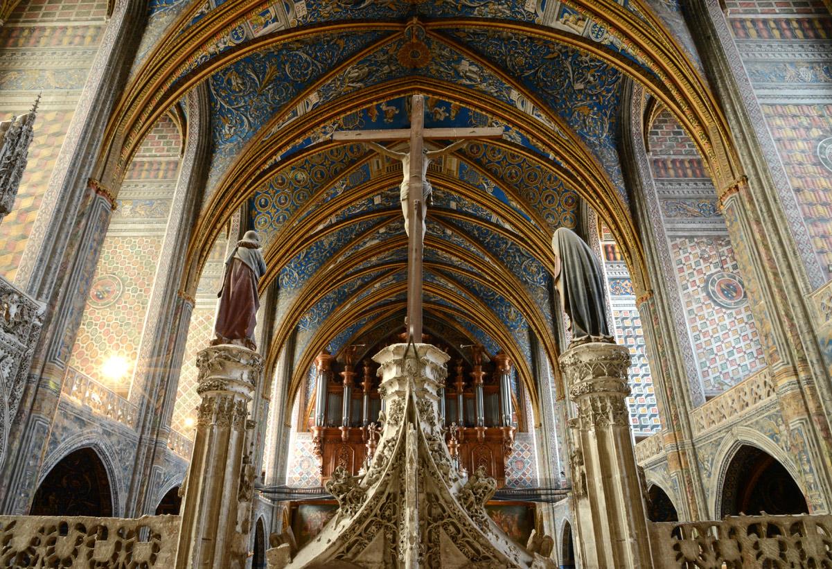 Cathédrale Albi -intérieur