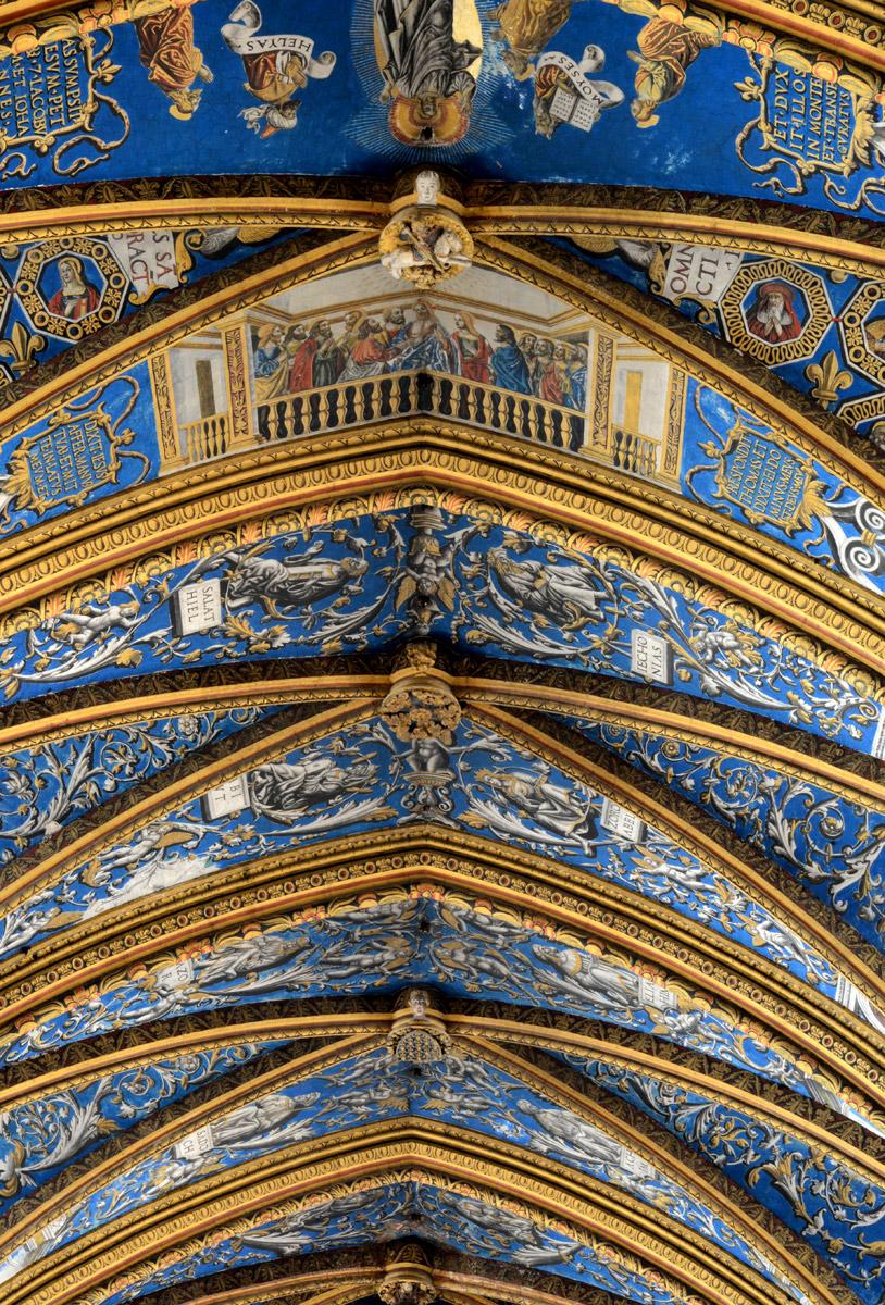 Albi cathédrale Voute