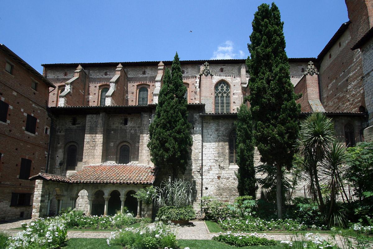 Albi Collégiale Saint Salvi Cloitre
