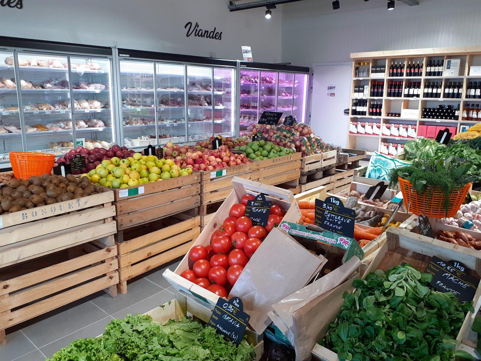 Brin de ferme – Point de vente de producteurs – Saint-Sulpice – Tarn – 81