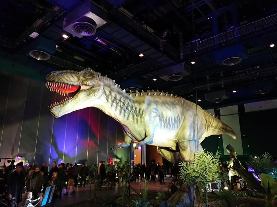 le monde des dinosaures albi 2020