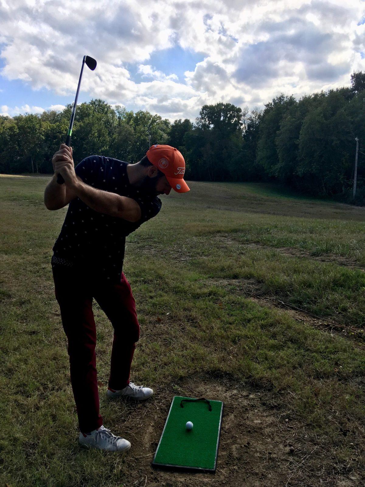 3 jours au practice de golf en tribu