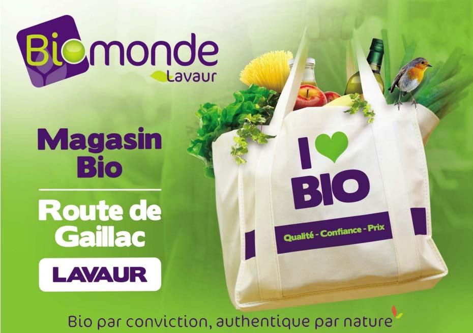 Magasin Biomonde à Lavaur – Tarn – 81