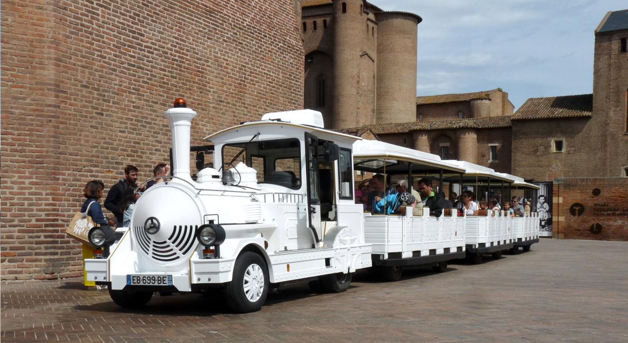 Albi petit train touristique