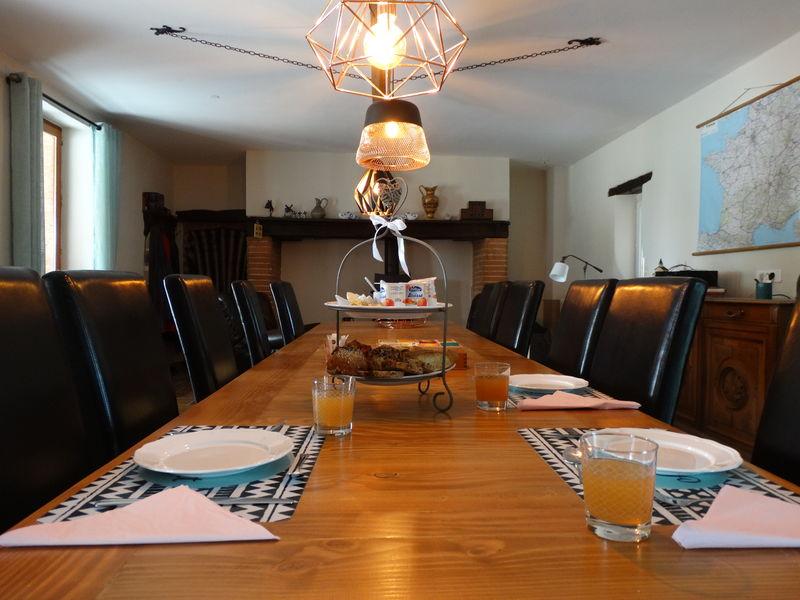Salon commun Gîte et chambres d'hôtes Résidence La Salamandre