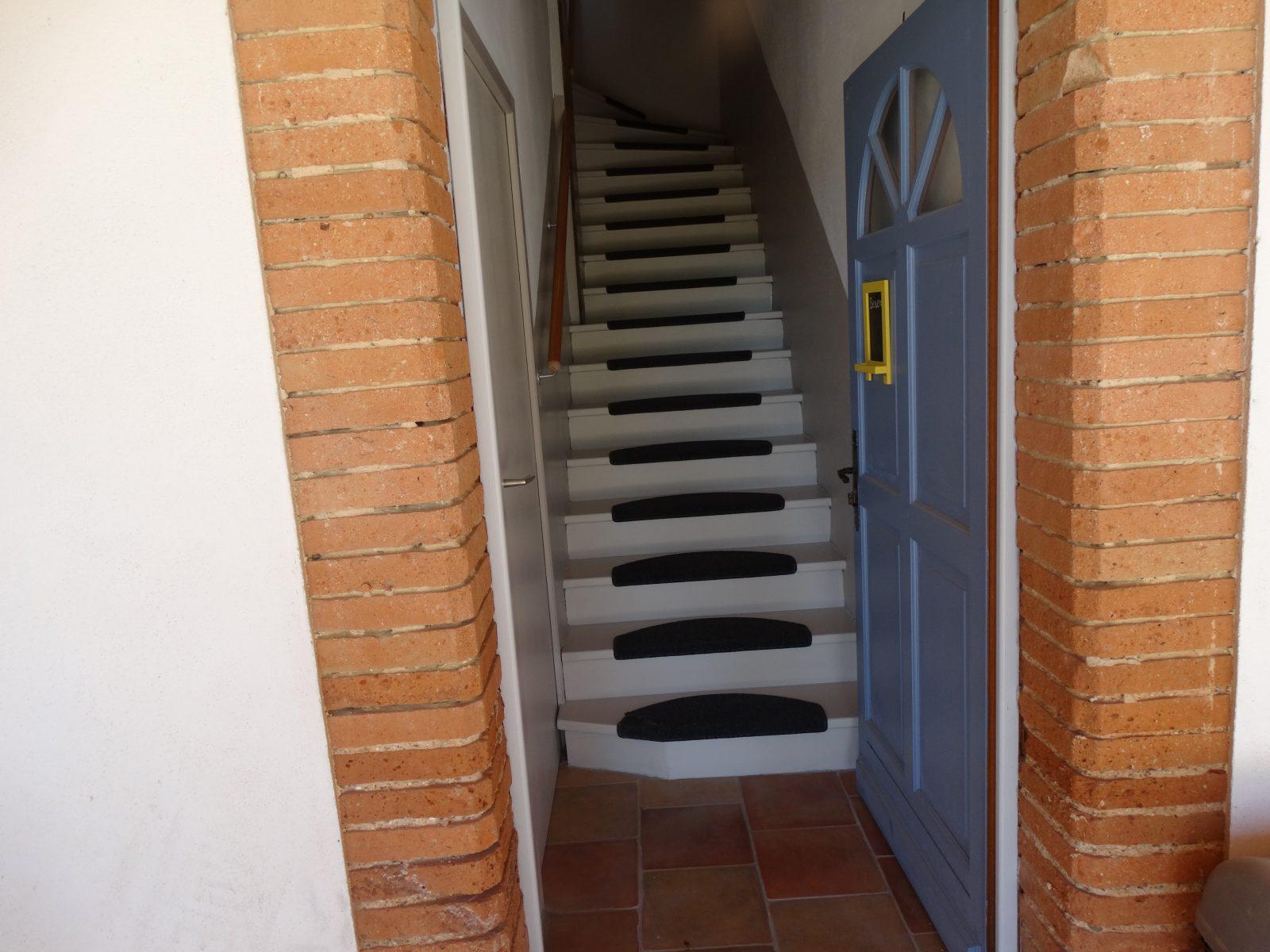 Entrée privée Gîte Duo Le Soleil résidence La Salamandre