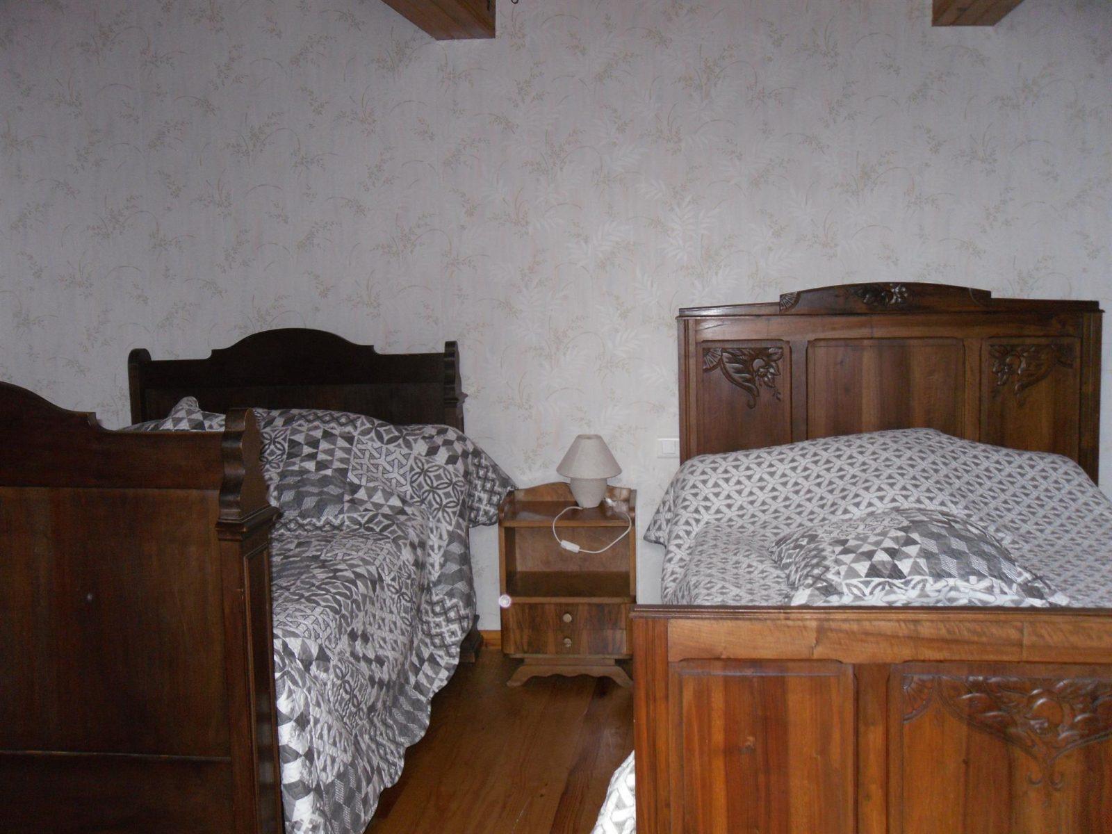 Valès Gîtes de France Tarn – chambre 2 lits simples
