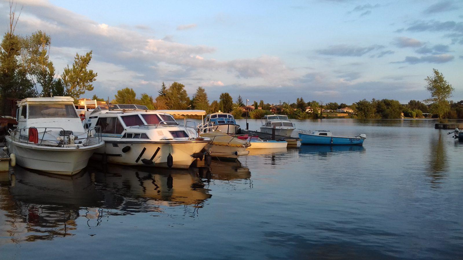 Le port d'Aiguelèze
