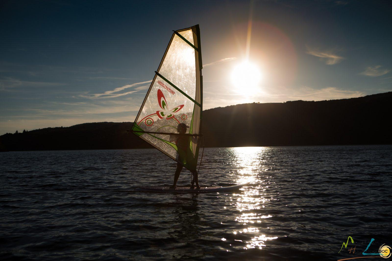 Base nautique lac du Laouzas