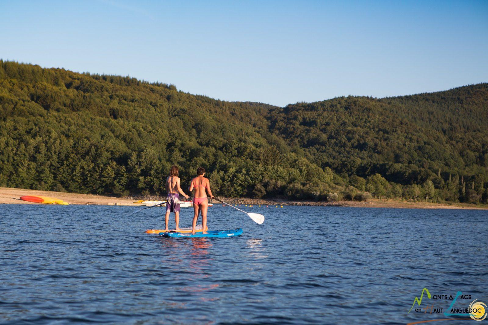 Base nautique du Haut-Languedoc «Cours de Stand up paddle»