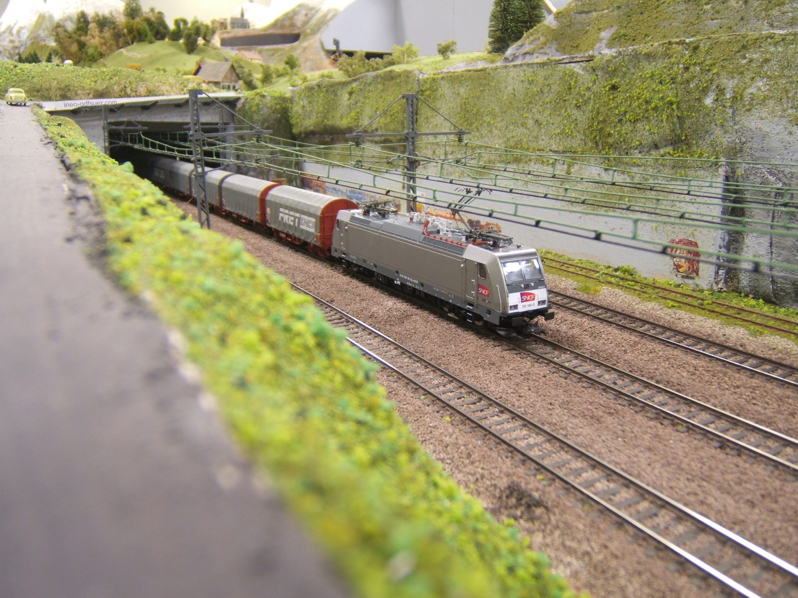 Train miniature gaillacois